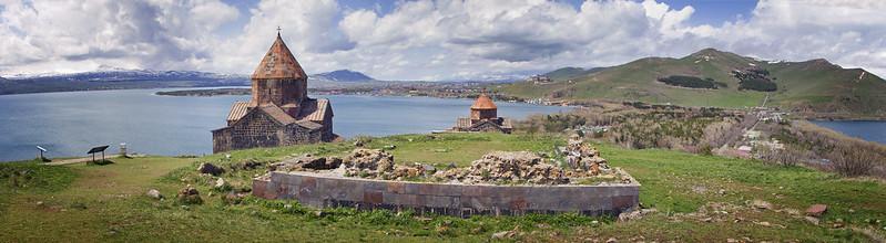 Lago Sevan en Armenia