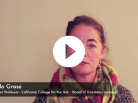 Lynda Grose - California College for the Arts / Goodwill Industries