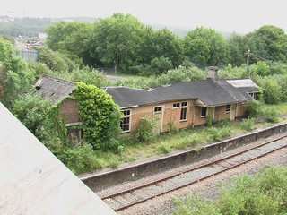 Goodwick station before demolition