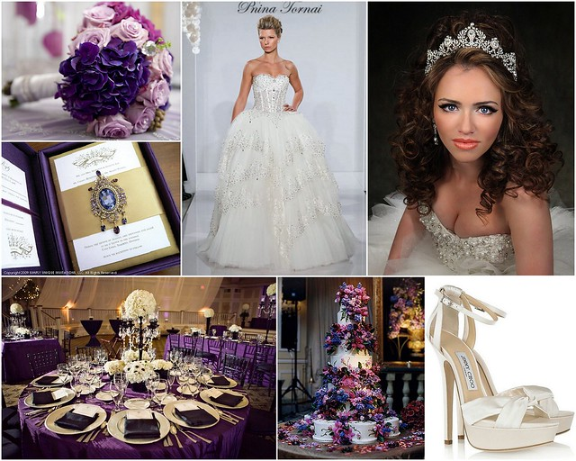 Regal Purple Wedding Inspiration