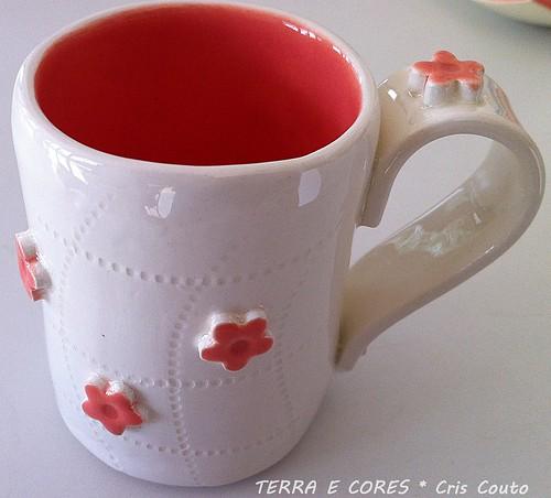 Caneca Florzinha by cris couto 73