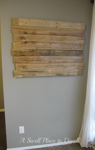 Pallet On Wall ASPTD