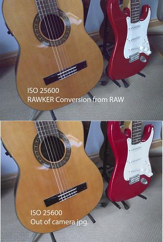 Olympus OM-D EM-5 Raw - ISO 25600