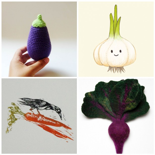 Monday Mood Board: Veggies
