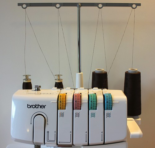 serger fully loaded