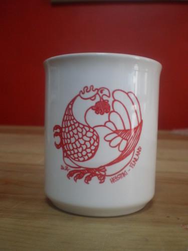 Metso-mug, red