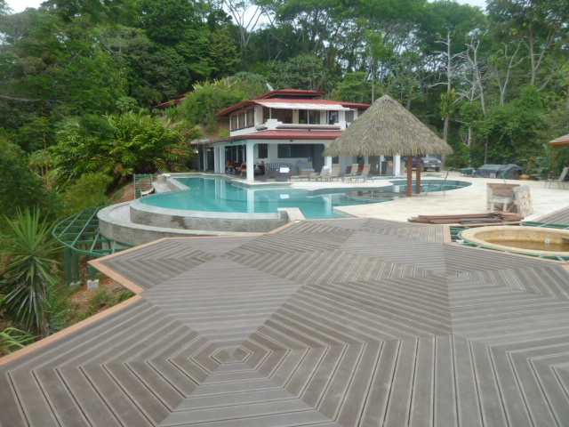 bamboo composite decking