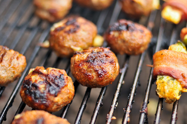 Grilled Armadillo Eggs Recipe Cheese-Stuffed, Sausage-Wrapped, Grilled ...