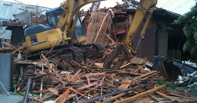 古家の解体。解体費用はいくらかかるか。