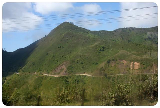 laos mountain road