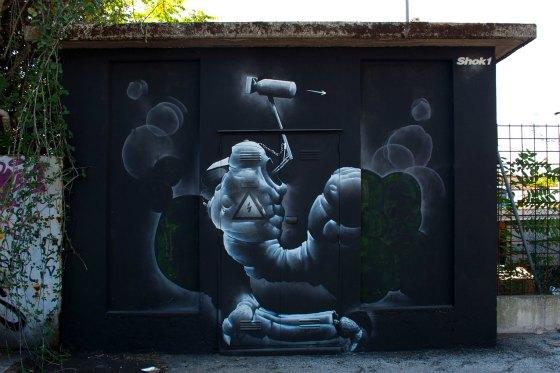 graffiti rayos-x