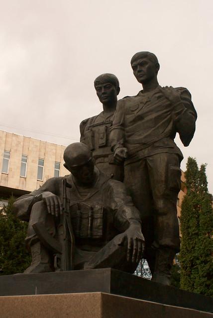Afghanistan War Memorial, Almaty, Kazakhstan