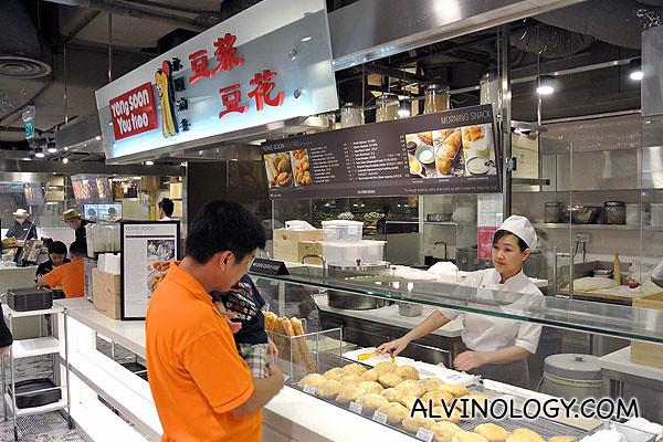 Yong Soon You Tiao stall