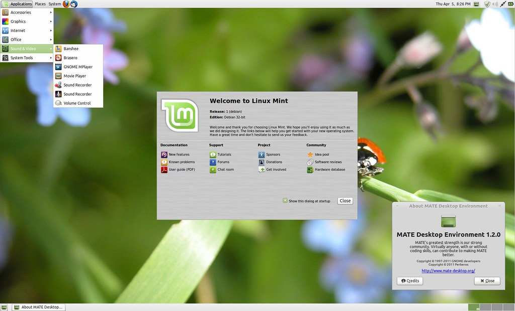mate desktop