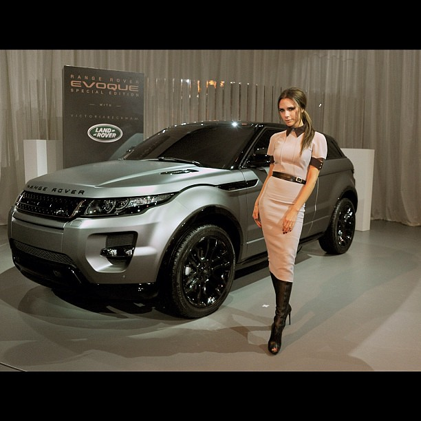 Victoria Beckham Partners With Land Rover To Launch Range