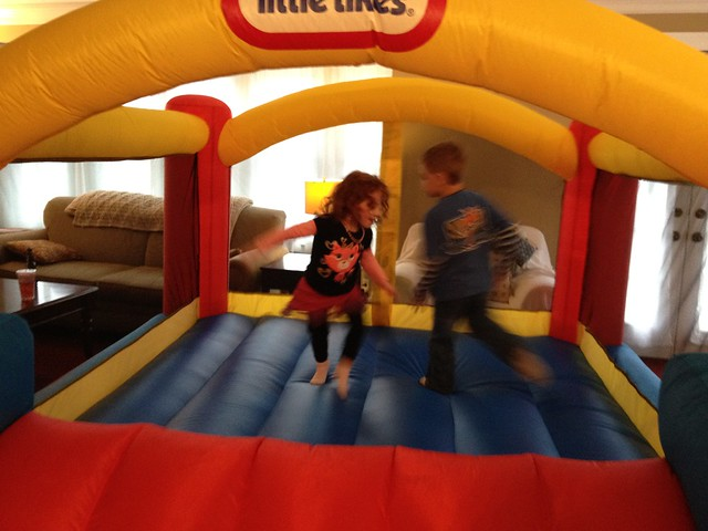 Bounce House Inside!