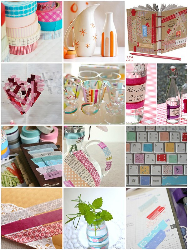 Things to do with washi tape / patterned masking tape