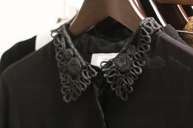 TBA To Be Adored AW12 lace collar