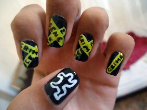 Nail art csi