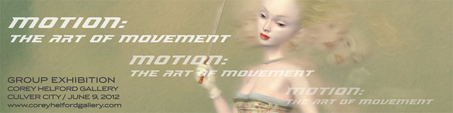 MOTION : The Art of Movement banner flyer