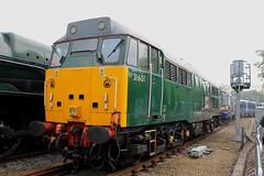 Class 31: 31601 Railfest 2012
