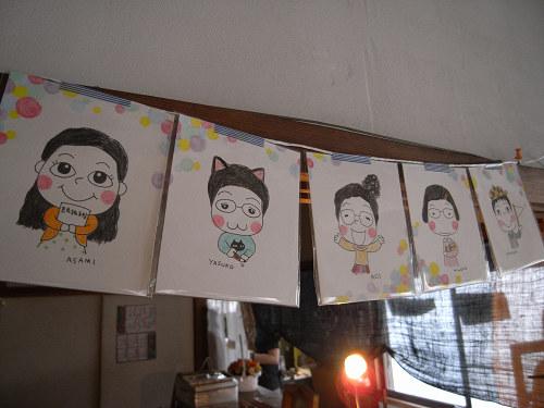 上村恭子個展「こおろこおろ」@フルコト1周年-00