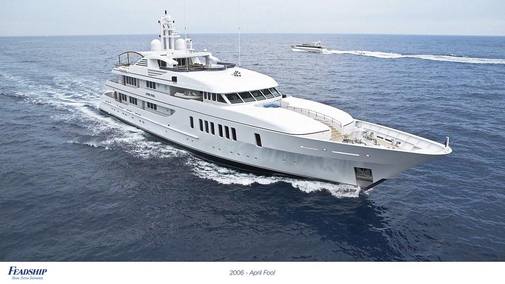 2006 - April Fool | Feadship Royal Dutch Shipyards | Flickr