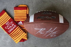 Like and Share for a Chance to Win RGIII Signed Ball!