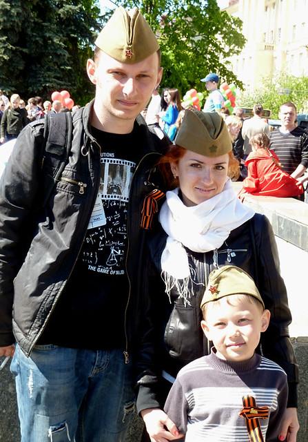 9 мая Минск Семья 1