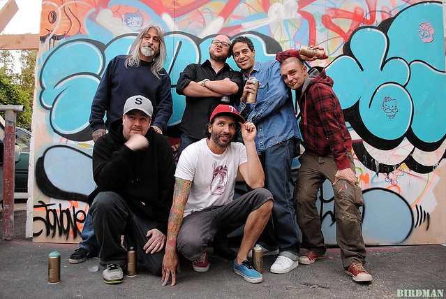 Seen, SketOne, Tilt, Fabien, JonOne, Speedy Graphito