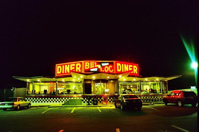 Bel-loc Diner Painting