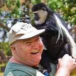 John and Colobus Monkey