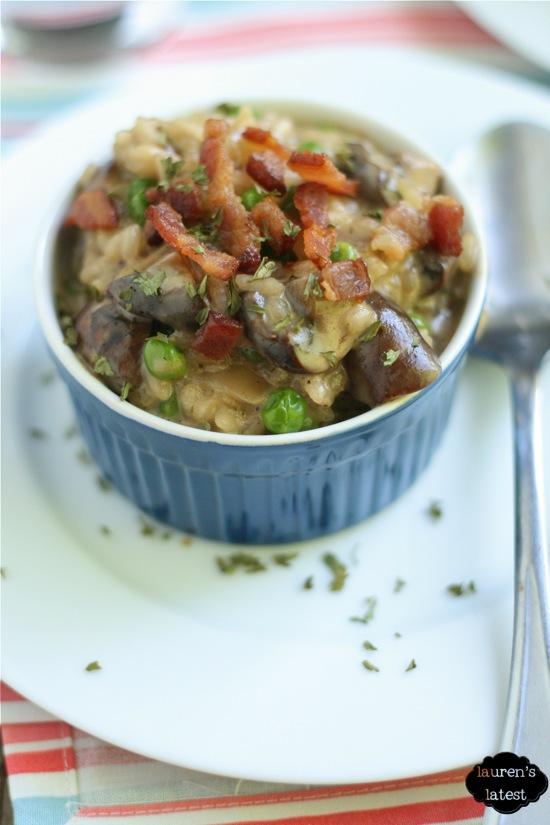 Bacon & Mushroom Risotto 1