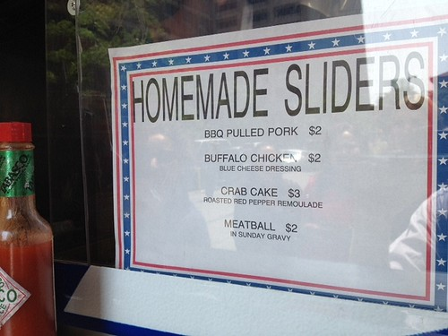our heros sliders menu