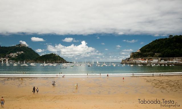 Praia...