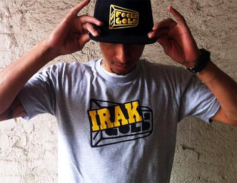 IRAK x Fool's Gold Tee. I got mine. by VLNSNYC