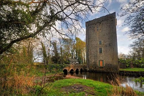 Thoor Ballylee across the river