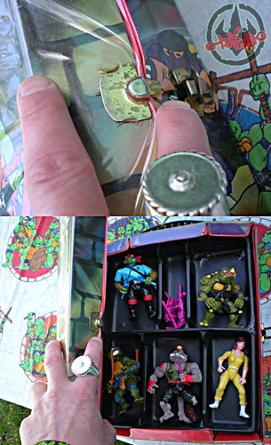 "Tara Toy Corp. :: ""TEENAGE MUTANT NINJA TURTLES"" - COLLECTORS CASE xvi (( 1988 ))"
