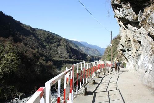 Yamunotri - walkway