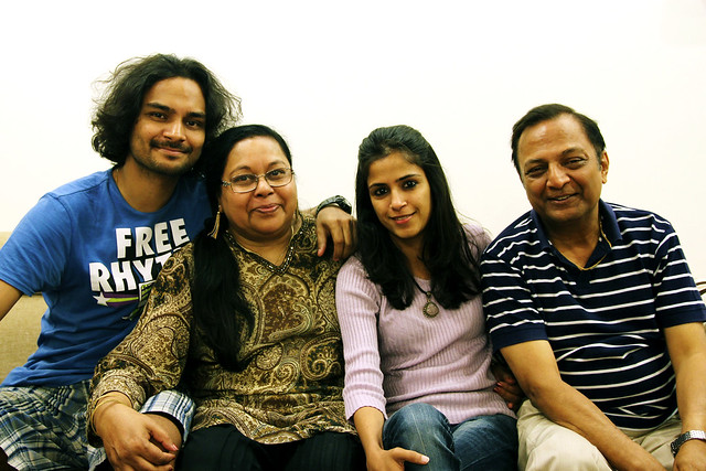 Ashok Jain and Family