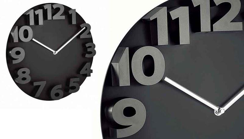 Horloge Murale Noir Et Blanc