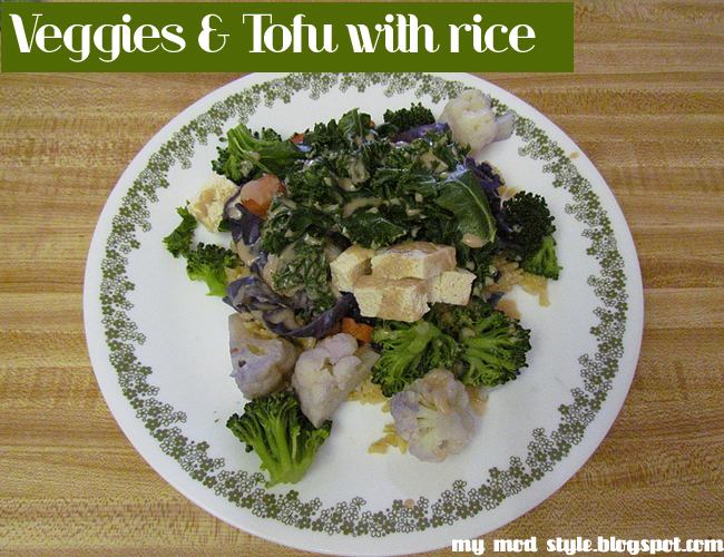 Whole Food Recipe: Tofu & Rice