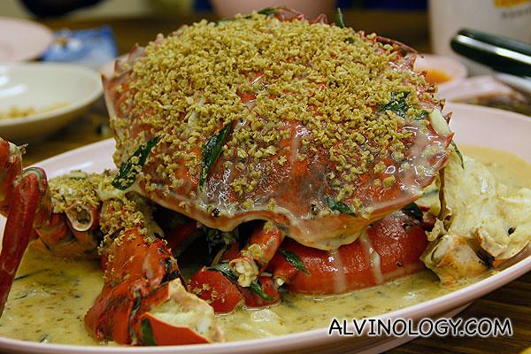 Signature Shimmering Sand Crab