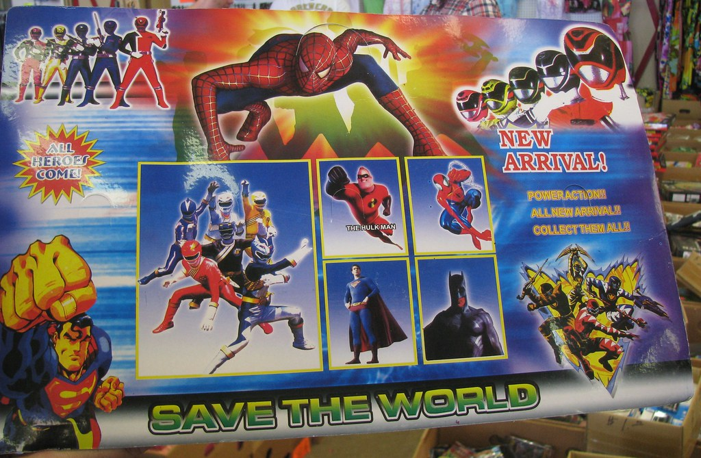 Traders World Bootleg Action Figures, back | Hulk Man! Who a