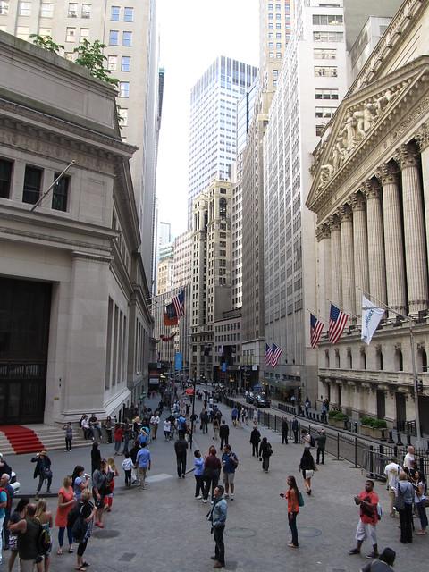 Broad And Wall Street Manhattan New York Flickr