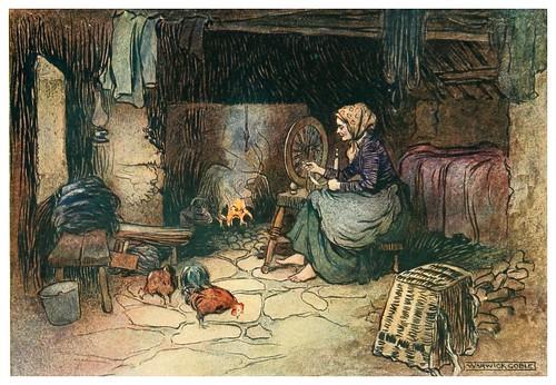 015-En la casita de la colina-Irish ways-1909-ilustraciones de Warwick Goble