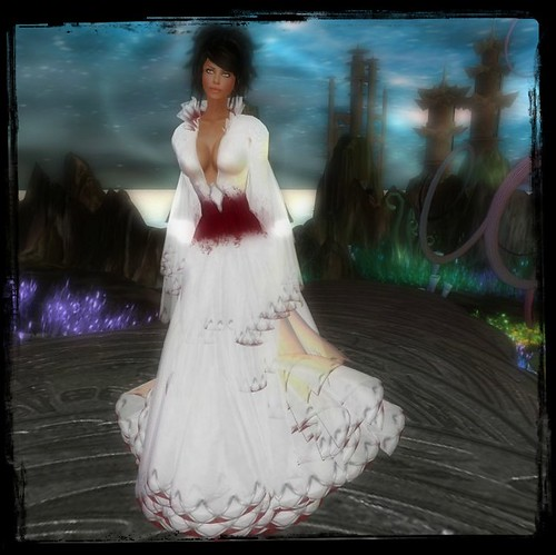 TWA Azalea Coronation Gown Set-Group Gift by Cherokeeh Asteria