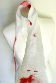 Vampire Bite Scarf