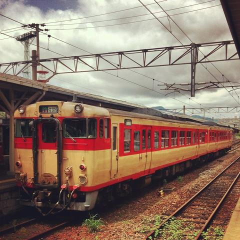 長崎から電車に乗って上熊本へ