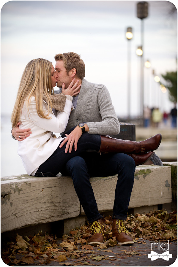 Knee high boots - Engagement Session
